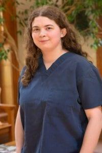 Grace Goin, Kennel Assistant