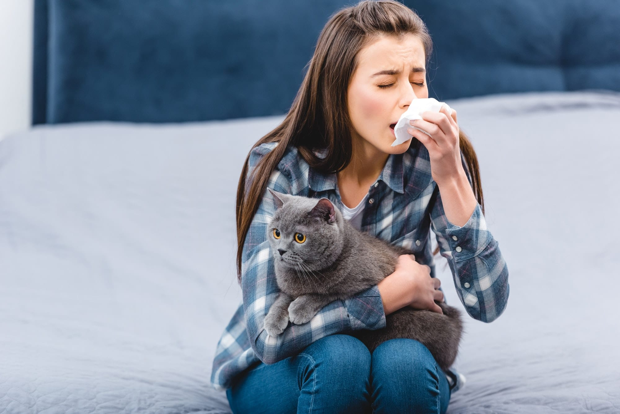 learn the symptoms if you are allergic to dogs